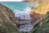 Petit Port bay on Guernsey's south coast on 25th October 2020