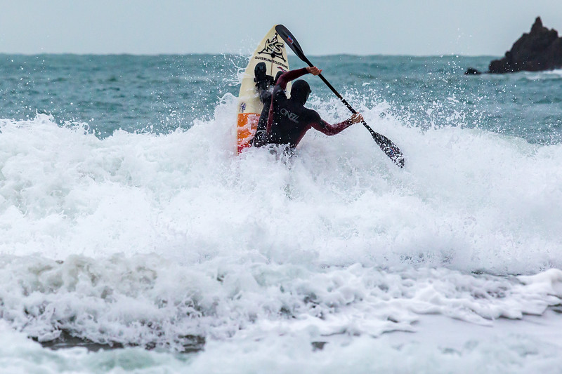 Adam Harvey paddling through surf Petit Port 130216 ©RLLord 6630 cr smg