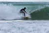Dave Du Port surfing off Petit Port, Guernsey