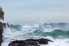 Castle Breakwater Lighthouse rising wave forms 100416 ©RLLord 9922 smg