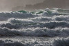 Storm Imogen drives waves towards Guernsey's south coast