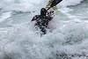 Adam Harvey on Waveski going through surf 130216 ©RLLord 6189 smg