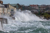 Ian Brown's Cycle Shop Belle Greve Bay large wave rough sea 100416 ©RLLord 9141 smg