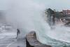 Belle Greve Bay wave overtops walker 100416 ©RLLord 9541 smg