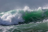 breaking wave Petit Port Guernsey 130216 ©RLLord 6077 smg
