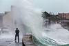 Belle Greve Bay wave overtops walker 100416 ©RLLord 9540 smg