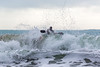 Adam Harvey splashes over top of wave off Petit Port cr 130216 ©RLLord 6714 smg