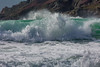 breaking roller wave Petit Port Guernsey  130216 ©RLLord 6081 smg