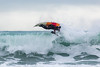 Adam Harvey KS Waveski parallel with rolling wave Petit Port cr130216 ©RLLord 6701 smg