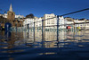 High tide Victoria marina St Peter Port waterfront 020310 ©RLLord 9943 smg