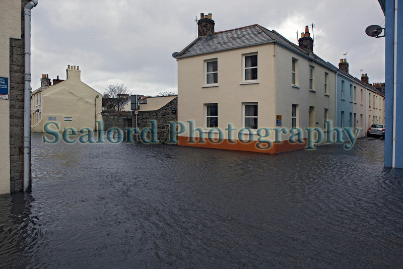 Bouet flooded by seawater on 3 February 2014