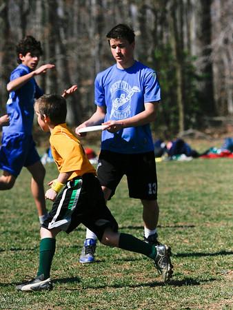 Bring the Huckus Ultimate Frisbee 3/19/11