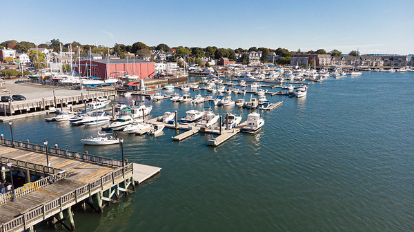 Drone - Beverly Harbor - 10-15-19-6