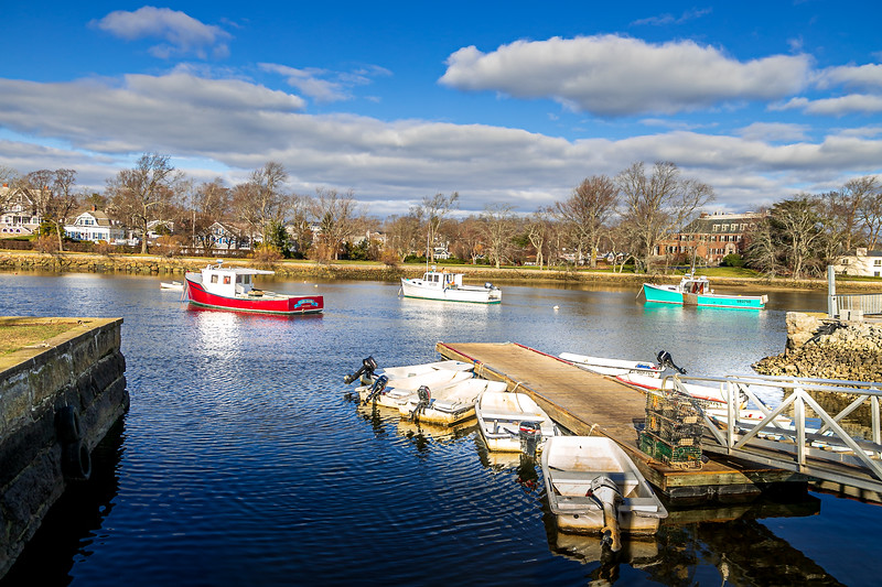 Cohasset Harbor Late Fall