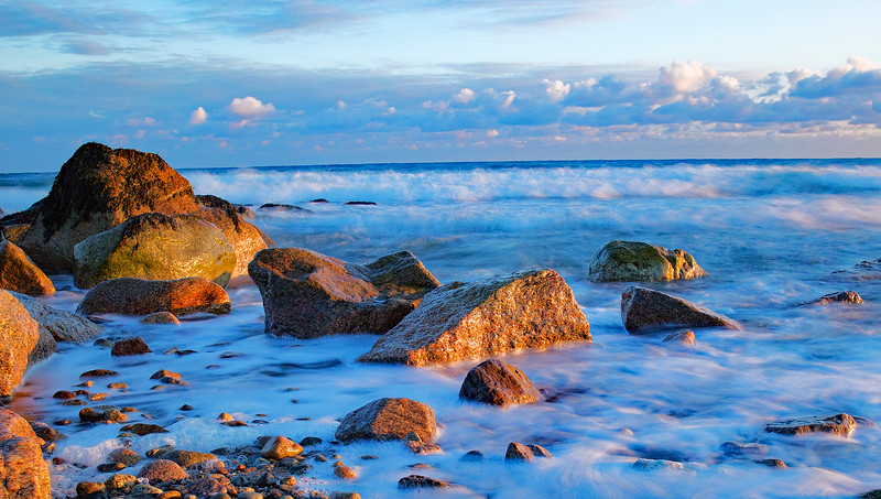 Cape Cod Bay with a fresh start to the day photography