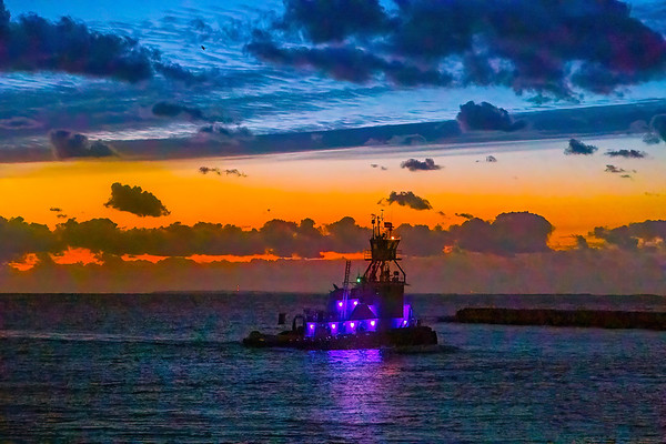 Tug at Twilight