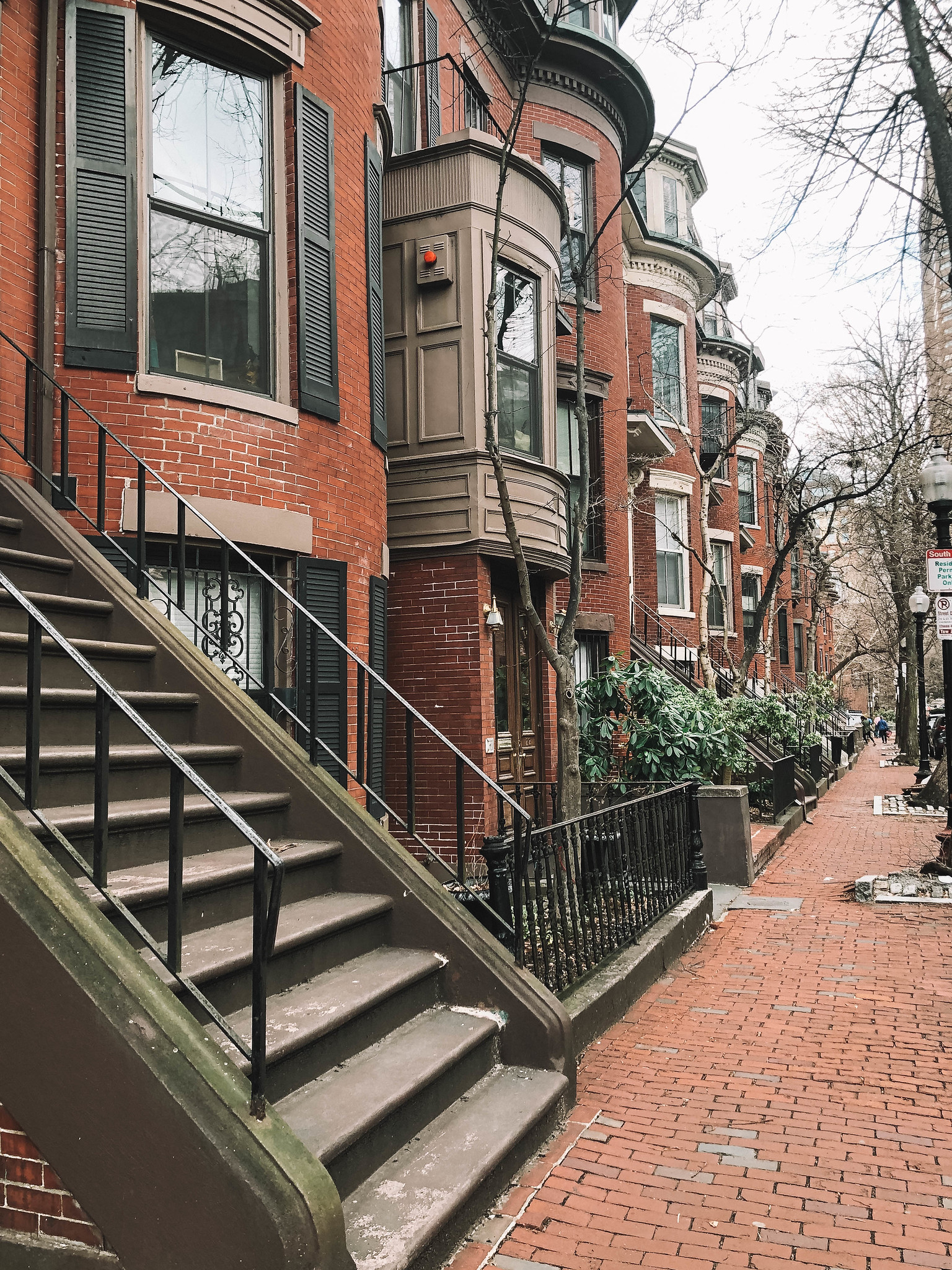 wandering down the street is a great idea for what to do in boston alone