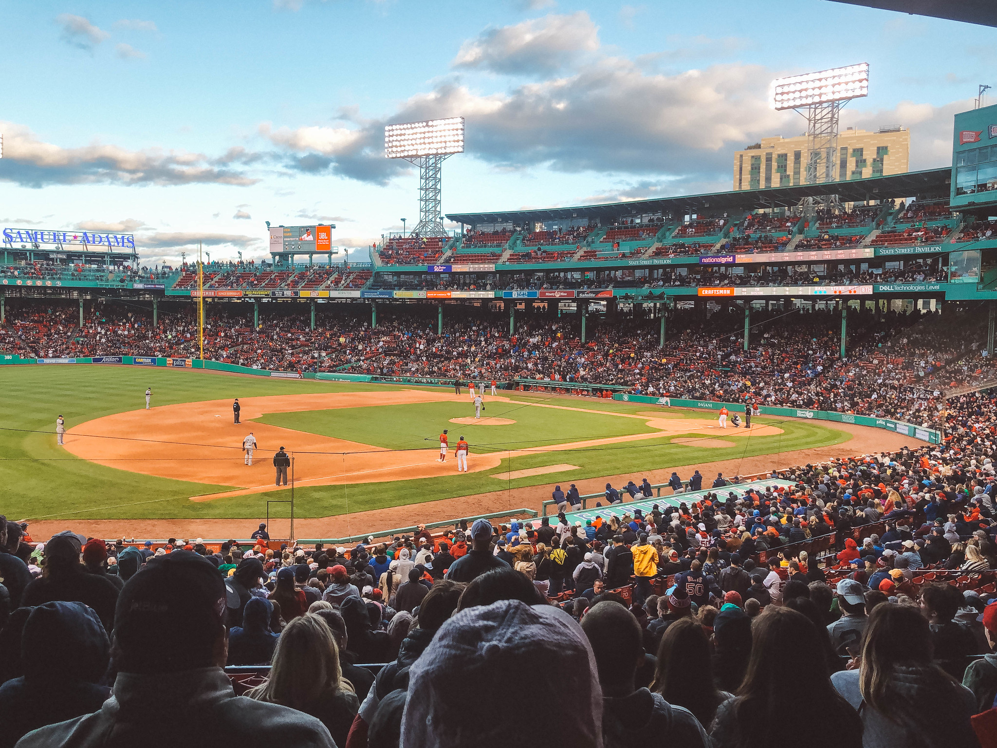 seeing a baseball game is among the best things to do in boston alone