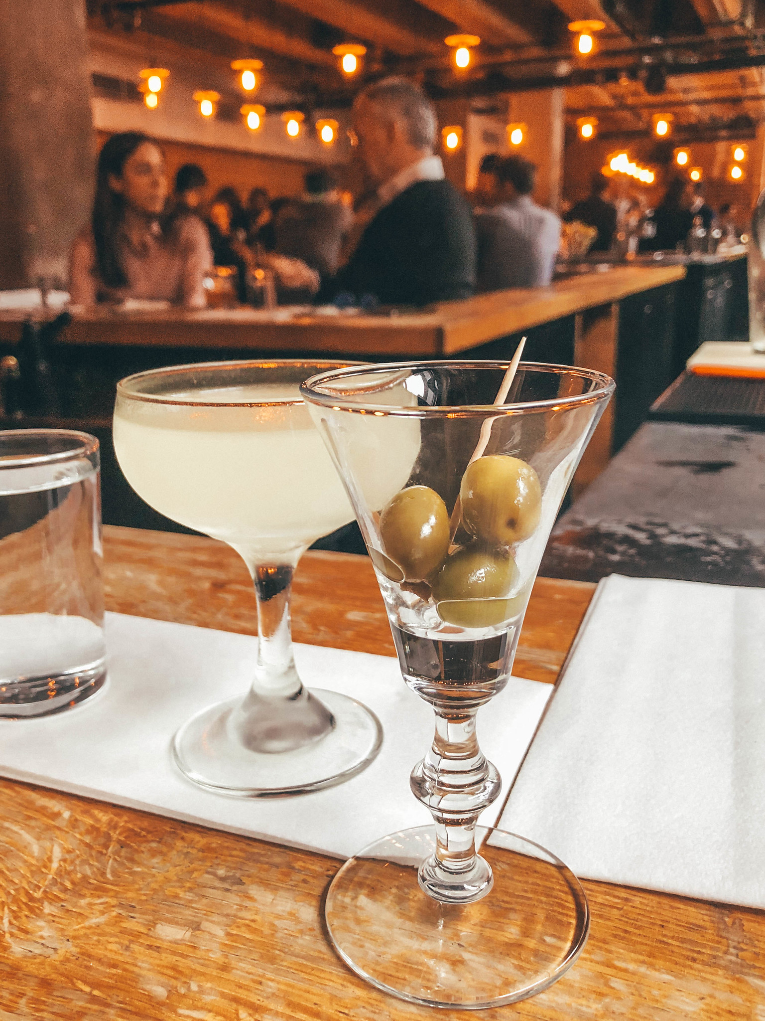 solo travel boston: grab a drink