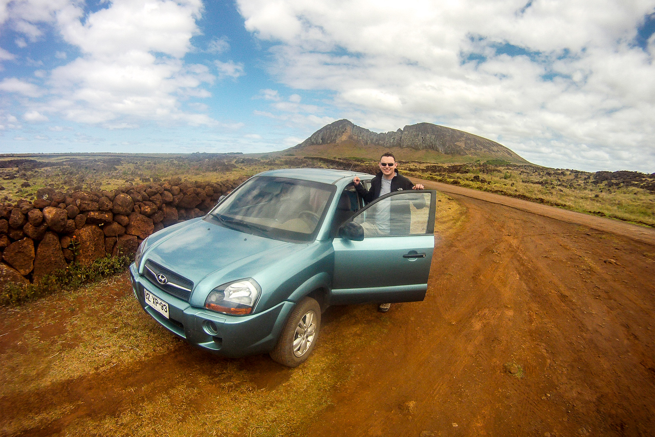 Driving around Easter Island