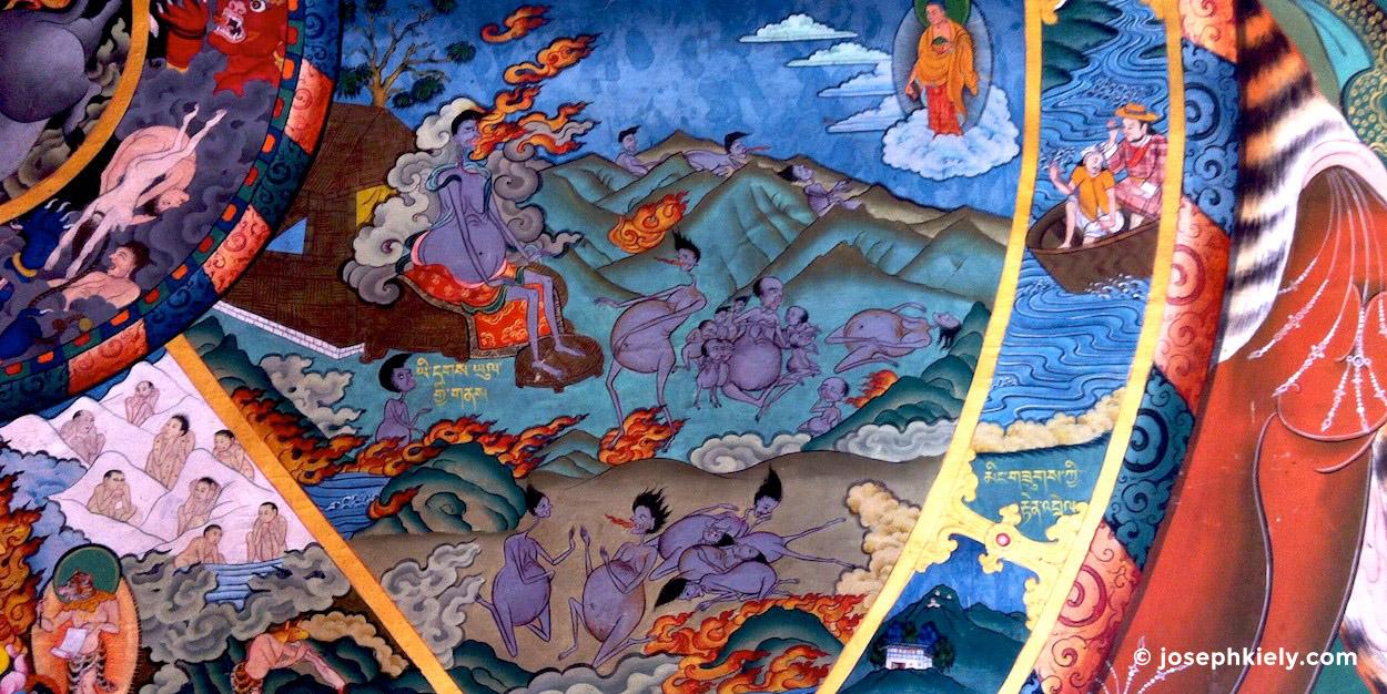wheel of life - Bhutan