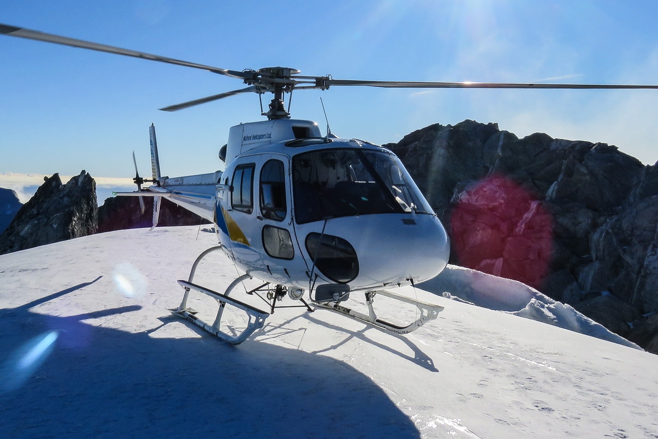 Milford Sound cruise from Te Anau with Helicopter flight and Glacier Landing, South Island Itinerary New Zealand