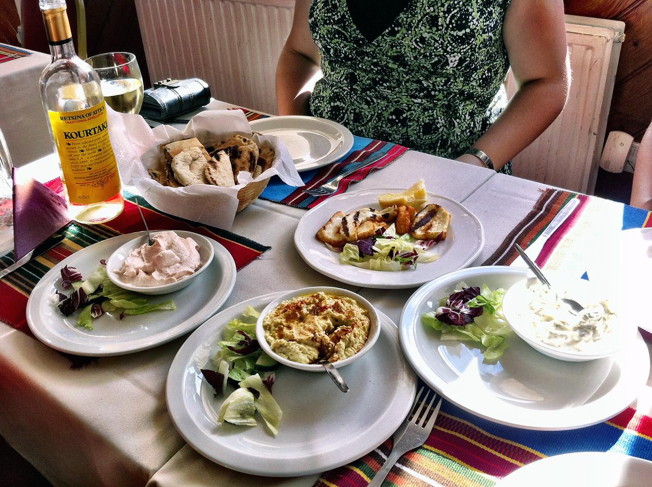Greek food appetizers