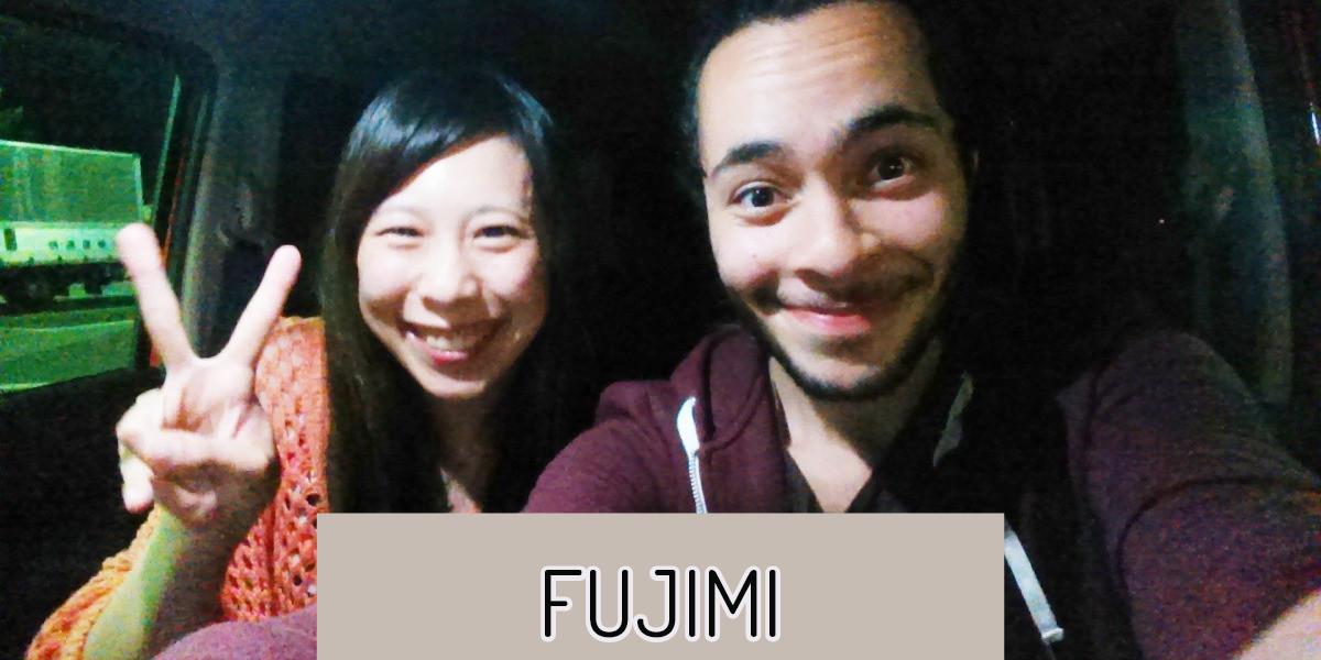 japan hitchiking friends