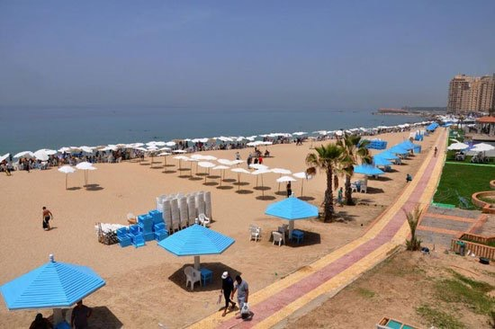 about alexandria beaches