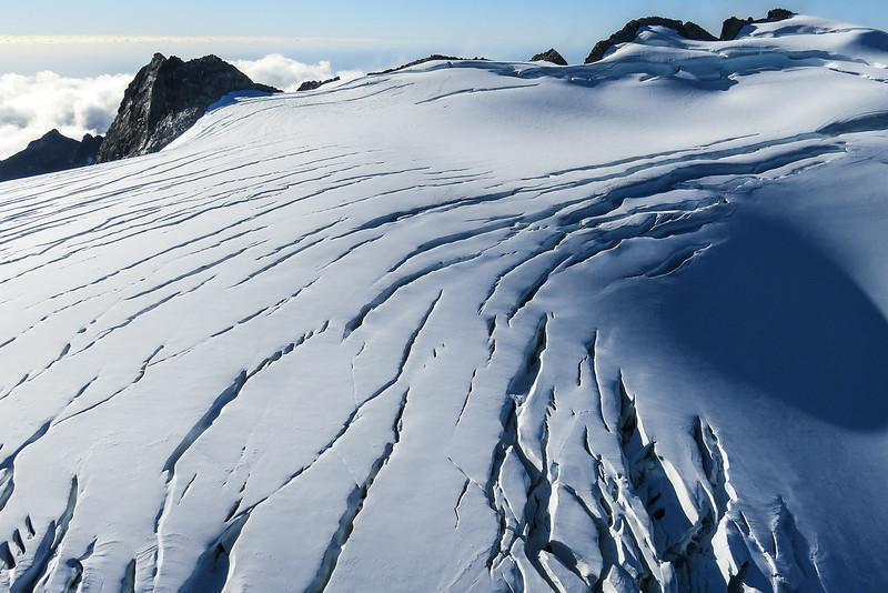 Mount Tutoko Glacier Landing