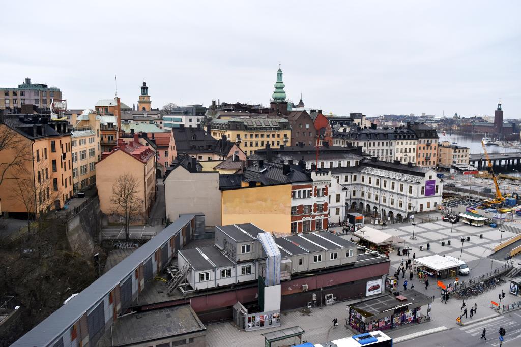 Visit Stockholm city view