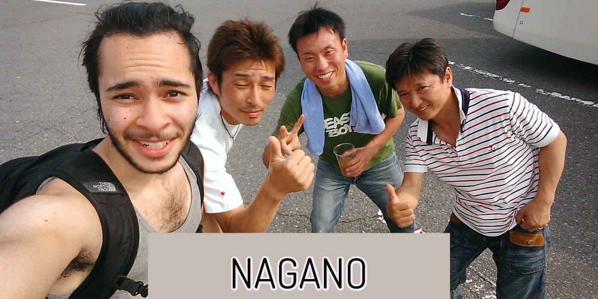 hitching japan nagano