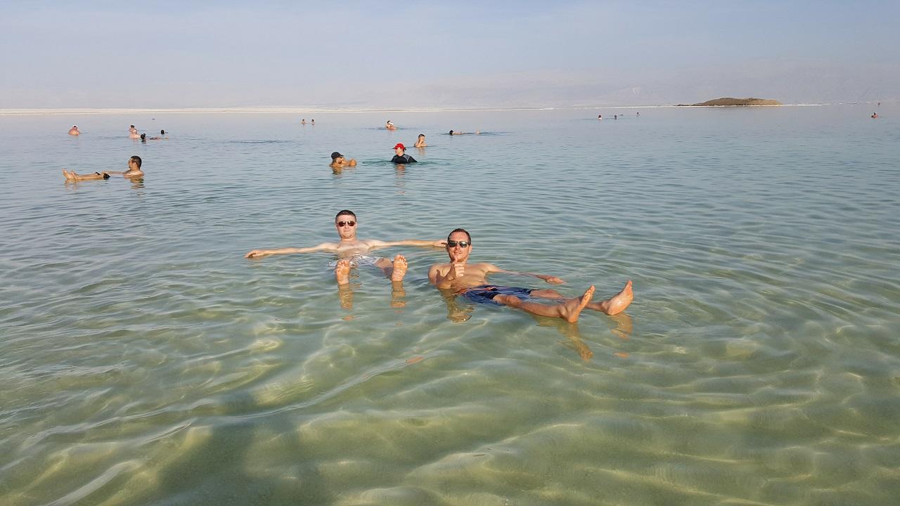 things to do in Israel float in dead sea