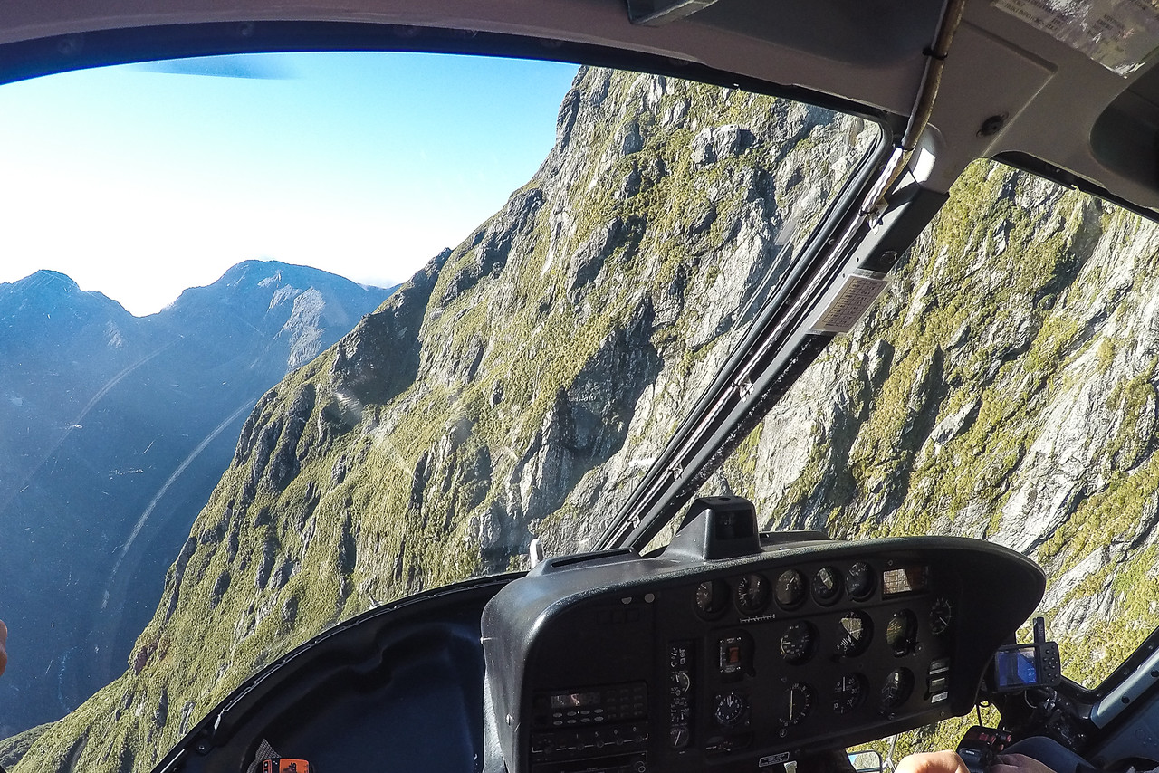 Milford Helicopters tour