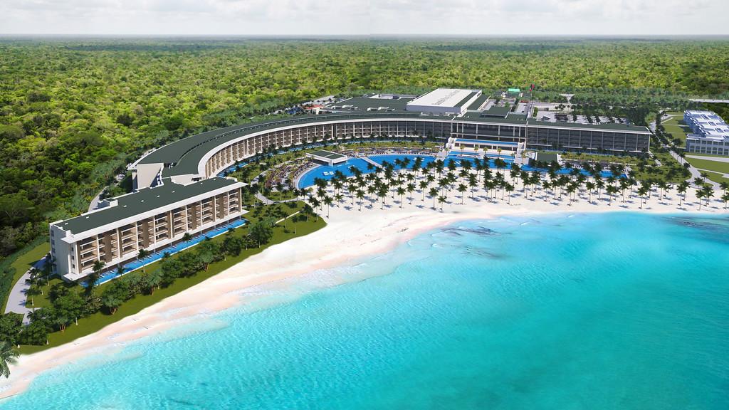 Barcelo Maya Palace resort hotel in Riviera Maya Mexico
