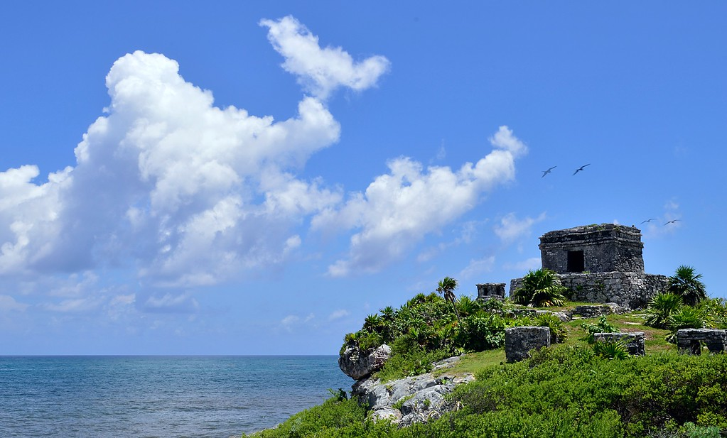 Tulum Mayan Ruins in Riviera Maya Mexico