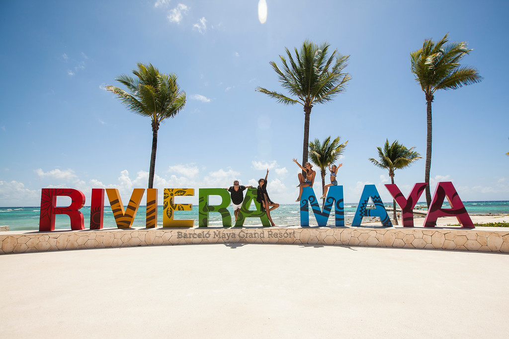 Riviera Maya Mexico Sign