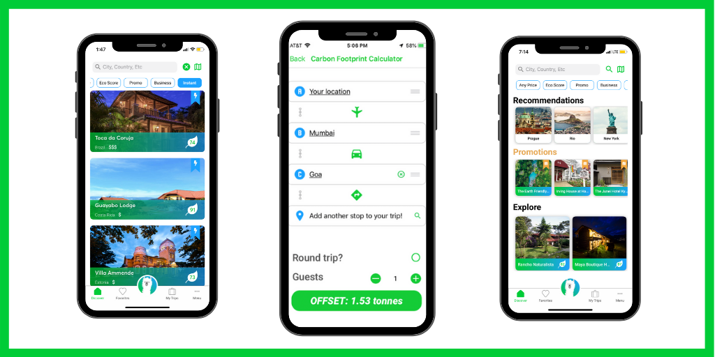 Wayaj App for Eco-Friendly Travel and Sustainable Travel Holidays