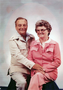 April 12, 1982 35th Wedding Anniversary photograph of David R. Keating (1924-1982) and Mary Kathleen (Hemler) Keating (1927-2011). (Courtesy of Diane Eck)