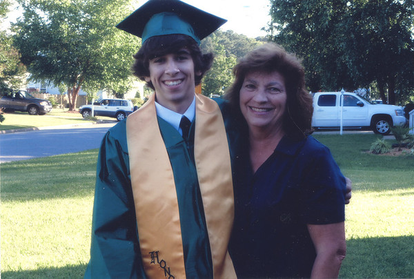 2012 Logan Mason Rice and grandmother Diane (Williams) Mason. (Courtesy of Diane Williams Mason)