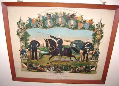 2011 (photo date) Florida Document acknowledging Johann Kuck's military service, 1896 to 1898. (Courtesy of Jackie Kuck)