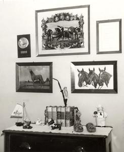 1950s 224 Hazel Avenue, Trenton, NJ Henry Kuck's memorabilia from Germany.