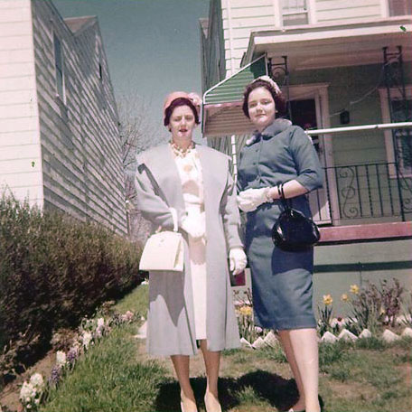 Undated Catherine (Krulikowski) Kusek and daughter, Loretta Kusek. (Courtesy of Sharon Goralski)