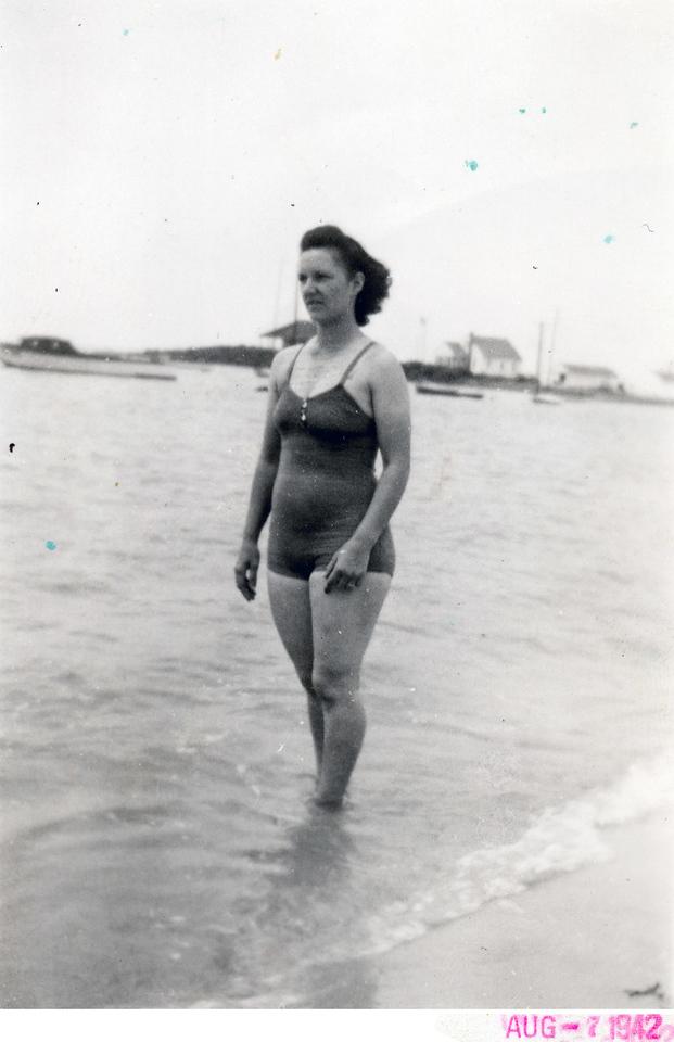 August, 1942 Lottie (Krulikowski) Szymanski. (Courtesy of Sharon Goralski)