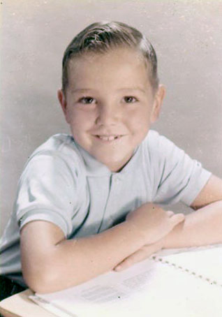 Undated Gerald Scott Kusek, son of Arthur Kusek. (Courtesy of Sharon Goralski)