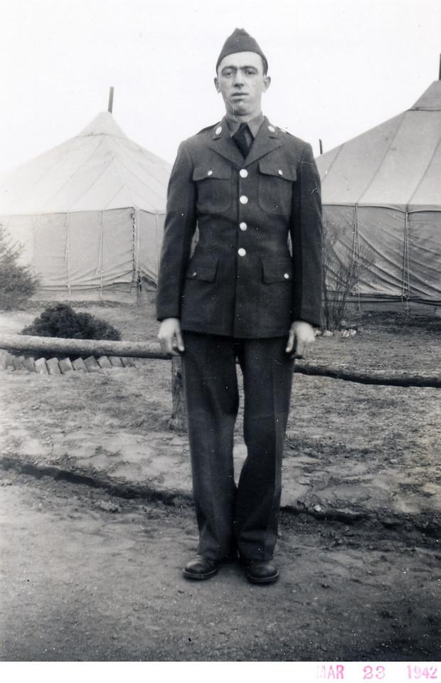 "March, 1942 John Frank ""Rags"" Krulikowski. (Courtesy of Sharon Goralski)"