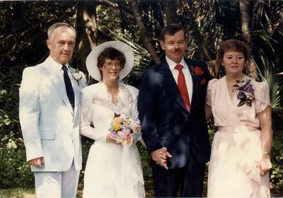 Donald J. Lorigan, Linda Louise (Loirgan) and William Anthony Kohlruss, Louise Anna (Keating) Lorigan