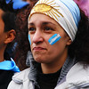A passionate fan living and dying with every intense moment of the game - Buenos Aires, Argentina.