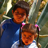 Cute but somewhat shy children - Norte Argentino.
