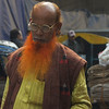 This man has a distinct 'red/orange beard that is quite commonly visible in Old Dhaka.  I asked a family friend who has lived in Dhaka for nearly four years and he mentioned it's purely done for fashion.
